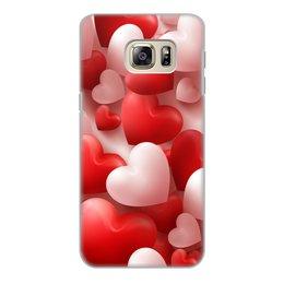 """Чехол для Samsung Galaxy S6 Edge, объёмная печать """"День святого Валентина"""" - праздник"""