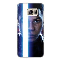"""Чехол для Samsung Galaxy S6 Edge, объёмная печать """"Звездные войны - Финн"""" - кино, фантастика, star wars, звездные войны, дарт вейдер"""