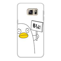 "Чехол для Samsung Galaxy S6 Edge, объёмная печать ""Гинтама. Элизабет"" - аниме, манга, элизабет, gintama, гинтама"