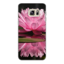 "Чехол для Samsung Galaxy S6 Edge, объёмная печать ""цветы"" - n-a-v"