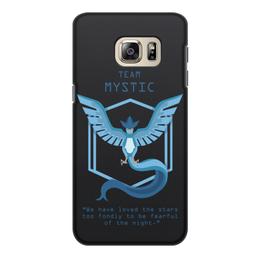 """Чехол для Samsung Galaxy S6 Edge, объёмная печать """"Team Mystic"""" - мультфильм, pokemon, покемон, мистик, mystic"""