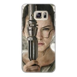 """Чехол для Samsung Galaxy S6 Edge, объёмная печать """"Звездные войны - Рей"""" - кино, фантастика, star wars, звездные войны, дарт вейдер"""