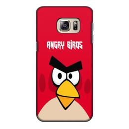 """Чехол для Samsung Galaxy S6 Edge, объёмная печать """"Angry Birds (Terence)"""" - terence, компьютерная игра, мультфильм, angry birds, злые птички"""