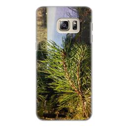 """Чехол для Samsung Galaxy S6 Edge, объёмная печать """"Удивительный Алтай"""" - лето, summer, природа, озеро, алтай"""