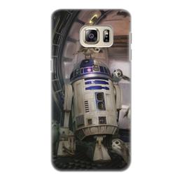 """Чехол для Samsung Galaxy S6 Edge, объёмная печать """"Звездные войны - R2-D2"""" - кино, фантастика, star wars, звездные войны, дарт вейдер"""