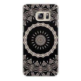 """Чехол для Samsung Galaxy S6 Edge, объёмная печать """"Барабан"""" - музыка, подарок, женщине, мужчине"""