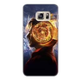 """Чехол для Samsung Galaxy S6 Edge, объёмная печать """"Доктор Стрэндж"""" - marvel, мстители, марвел, доктор стрэндж, doctor strange"""
