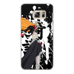 """Чехол для Samsung Galaxy S6 Edge, объёмная печать """"Блич """" - аниме, манга, bleach, блич, синигами"""