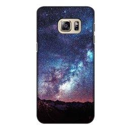 """Чехол для Samsung Galaxy S6 Edge, объёмная печать """"Космос"""" - космос"""