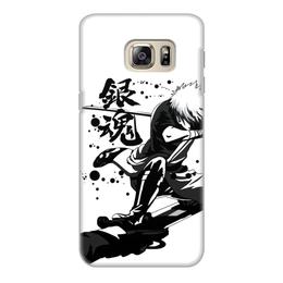 "Чехол для Samsung Galaxy S6 Edge, объёмная печать ""Гинтама"" - аниме, манга, gintama, гинтама"