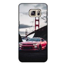 """Чехол для Samsung Galaxy S6 Edge, объёмная печать """"Машина"""" - машина"""