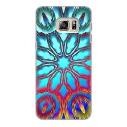 """Чехол для Samsung Galaxy S6 Edge, объёмная печать """"Нирвана"""" - подарок, абстракция, digital art, спектр, градиент"""