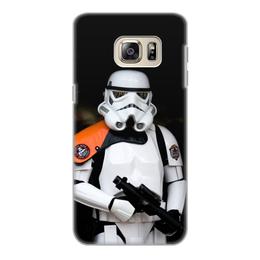 """Чехол для Samsung Galaxy S6 Edge, объёмная печать """"Звёздные войны"""" - звёздные войны, кино, star wars"""