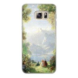 "Чехол для Samsung Galaxy S6 Edge, объёмная печать ""Дворец грёз (Томас Эдвин Мостин)"" - картина, живопись, мостин, романтизм"