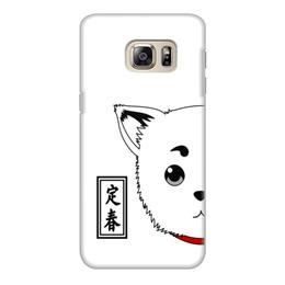 """Чехол для Samsung Galaxy S6 Edge, объёмная печать """"Гинтама. Садахару"""" - аниме, манга, gintama, гинтама, садахару"""
