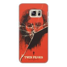 """Чехол для Samsung Galaxy S6 Edge, объёмная печать """"Твин-Пикс"""" - фильмы, твин-пикс"""