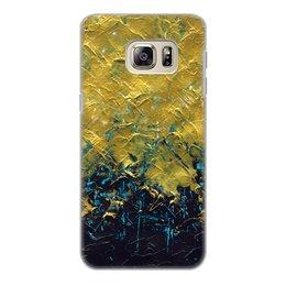 """Чехол для Samsung Galaxy S6 Edge, объёмная печать """"Abstract"""" - картина, разводы, абстракция, живопись, флюид"""