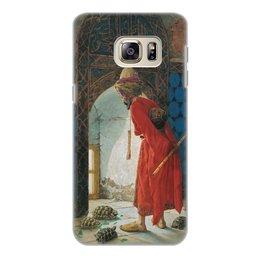 "Чехол для Samsung Galaxy S6 Edge, объёмная печать ""Дрессировщик черепах (картина Хамди)"" - картина, живопись, сатира, турция, хамди"