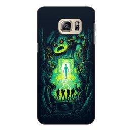 """Чехол для Samsung Galaxy S6 Edge, объёмная печать """"Ghost busters"""" - мультфильм, кино, фантастика, сказка, охотники за приведениями"""