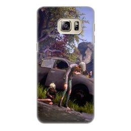 """Чехол для Samsung Galaxy S6 Edge, объёмная печать """"We Happy Few"""" - игры"""