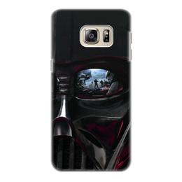 """Чехол для Samsung Galaxy S6 Edge, объёмная печать """"Звездные войны"""" - кино, фантастика, star wars, звездные войны, дарт вейдер"""