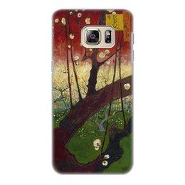"Чехол для Samsung Galaxy S6 Edge, объёмная печать ""Цветение слив (Ван Гог)"" - картина, ван гог, живопись"