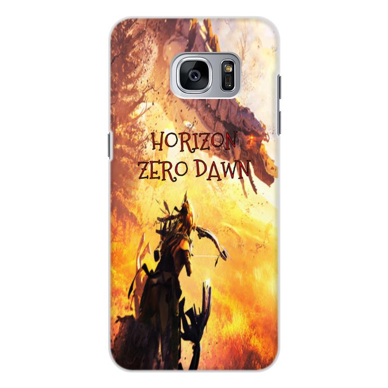 Чехол для Samsung Galaxy S7, объёмная печать Printio Horizon zero dawn printio чехол для samsung galaxy s7 силиконовый