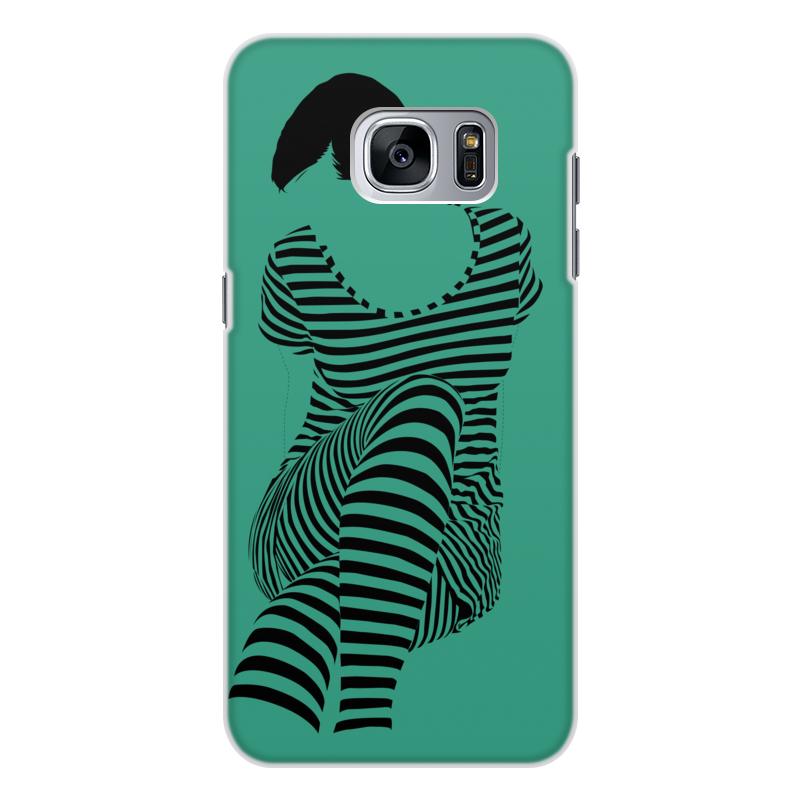 Чехол для Samsung Galaxy S7, объёмная печать Printio раздвоение личности
