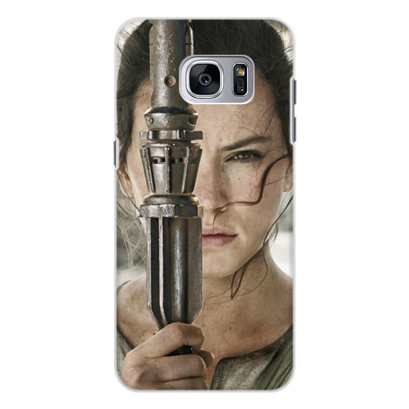 Чехол для Samsung Galaxy S7, объёмная печать Printio Звездные войны - рей elephone s7 4g phablet