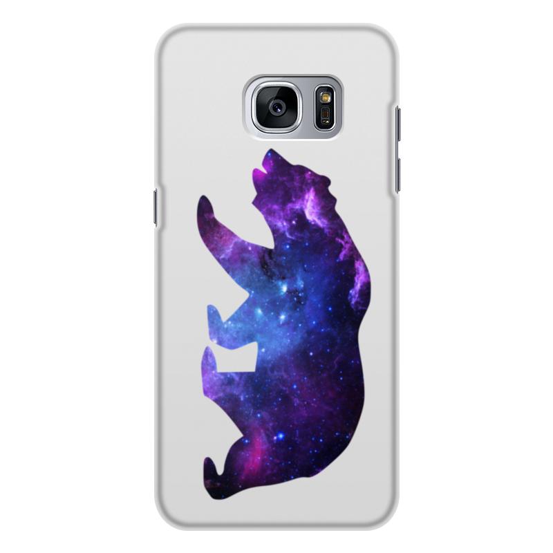 Чехол для Samsung Galaxy S7, объёмная печать Printio Space animals чехол для samsung galaxy s8 объёмная печать printio space animals