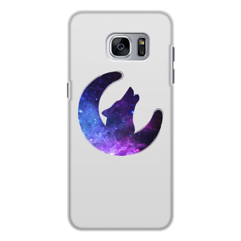 Чехол для Samsung Galaxy S7, объёмная печать Printio Space animals soft space