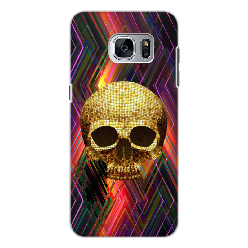 Чехол для Samsung Galaxy S7 объёмная печать Printio Черепушка