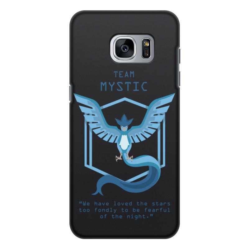 Чехол для Samsung Galaxy S7, объёмная печать Printio Team mystic