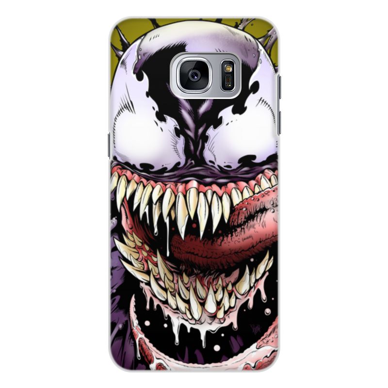 Чехол для Samsung Galaxy S7, объёмная печать Printio Веном (venom) printio чехол для samsung galaxy s7 объёмная печать