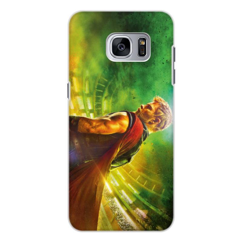 Чехол для Samsung Galaxy S7, объёмная печать Printio Тор рагнарёк