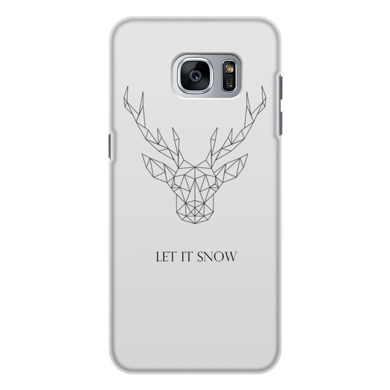 лучшая цена Чехол для Samsung Galaxy S7, объёмная печать Printio Dear deer