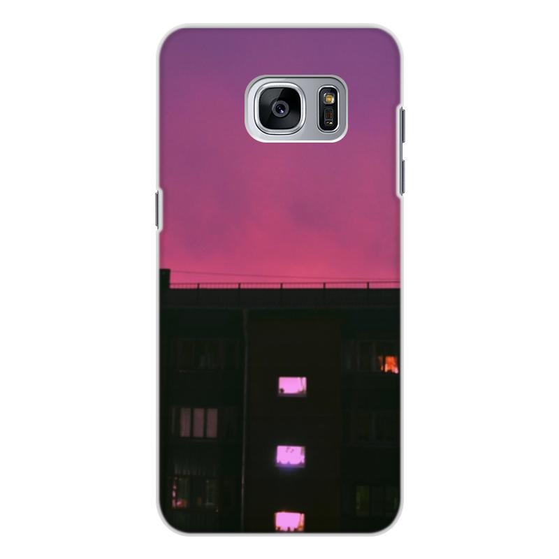 Чехол для Samsung Galaxy S7, объёмная печать Printio Good night аксессуар чехол накладка для samsung galaxy s7 monsterskin hd crash guard