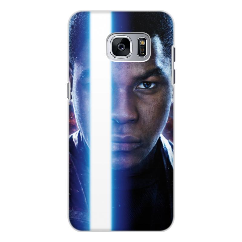 Чехол для Samsung Galaxy S7, объёмная печать Printio Звездные войны - финн промо чехол для samsung galaxy mini 2 s6500 силиконовый tpu черный финн парнишка