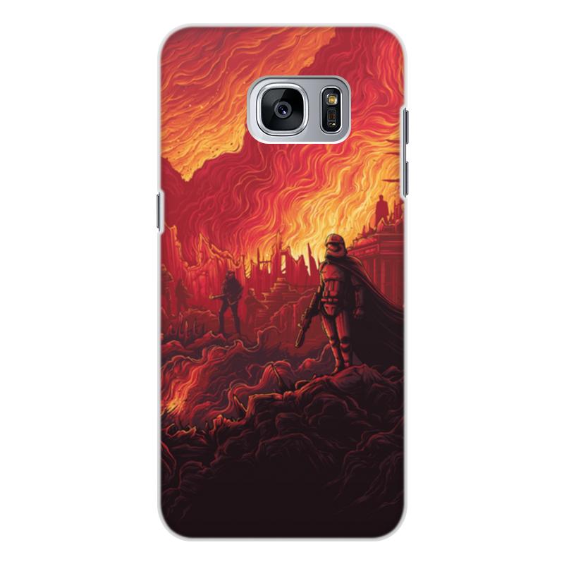 Чехол для Samsung Galaxy S7, объёмная печать Printio Звездные войны чехол для samsung galaxy s7 объёмная печать printio звездные войны