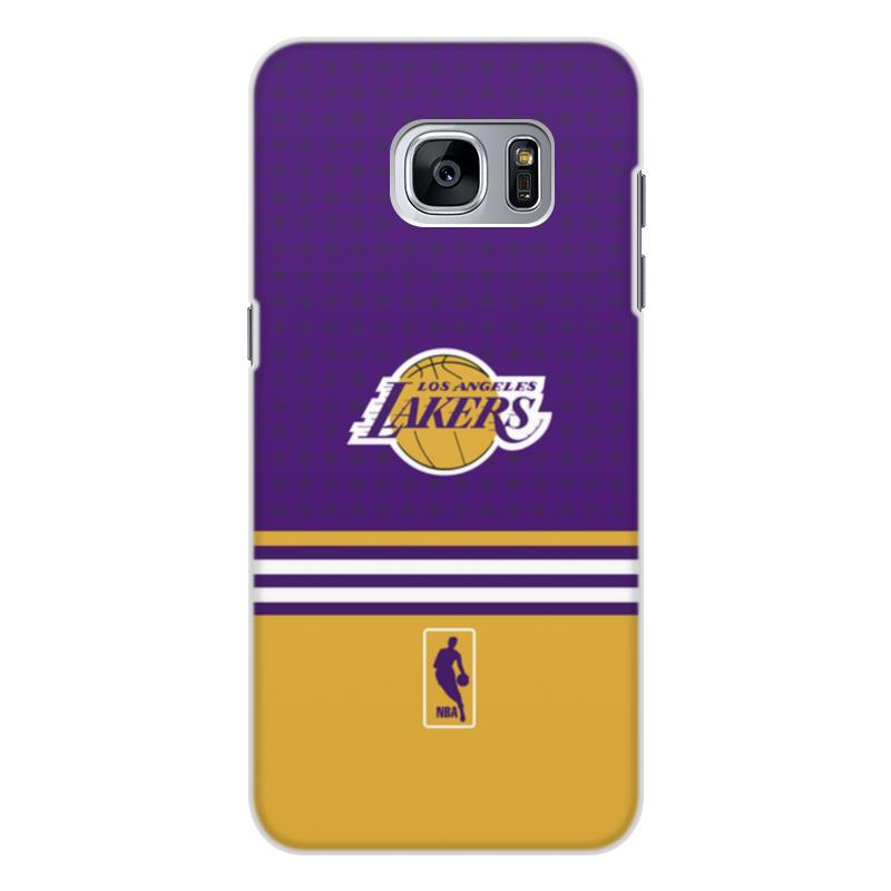 Чехол для Samsung Galaxy S7, объёмная печать Printio Lakers case pro