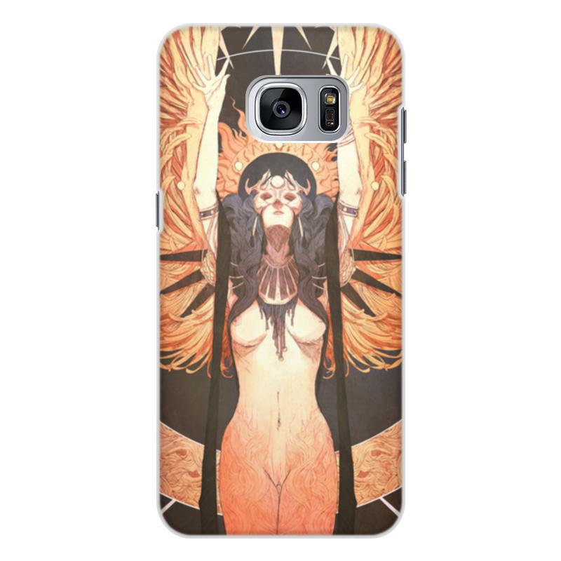 Чехол для Samsung Galaxy S7, объёмная печать Printio Ангел ночи чехол для samsung galaxy s5 printio танго в ночи