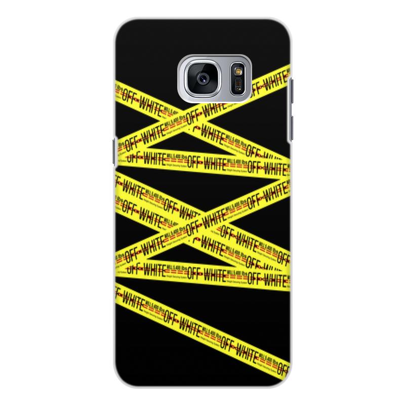 Чехол для Samsung Galaxy S7, объёмная печать Printio Off-white