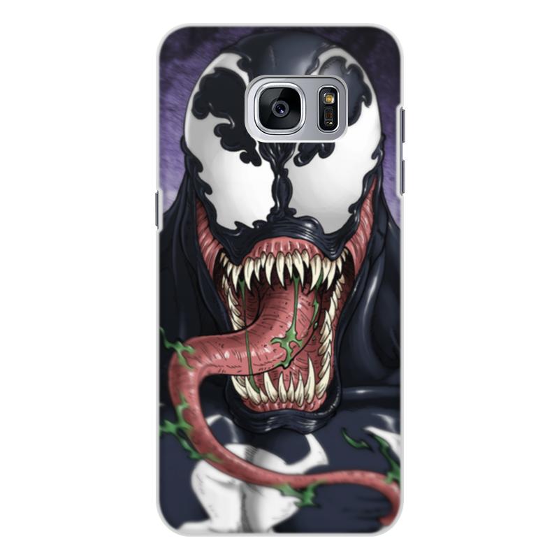 Чехол для Samsung Galaxy S7, объёмная печать Printio Веном (venom) чехол для samsung galaxy s7 объёмная печать printio бананы