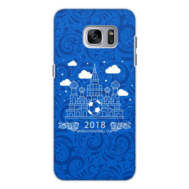 Чехол для Samsung Galaxy S7, объёмная печать Printio Футбол 5pcs lot for samsung for galaxy s7 g9300 lcd display touch screen digitizer assembly free dhl