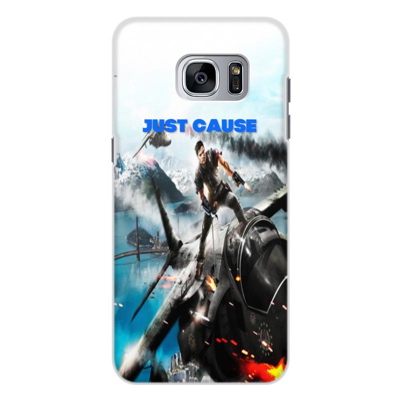 Чехол для Samsung Galaxy S7, объёмная печать Printio Just cause телефон samsung galaxy s7