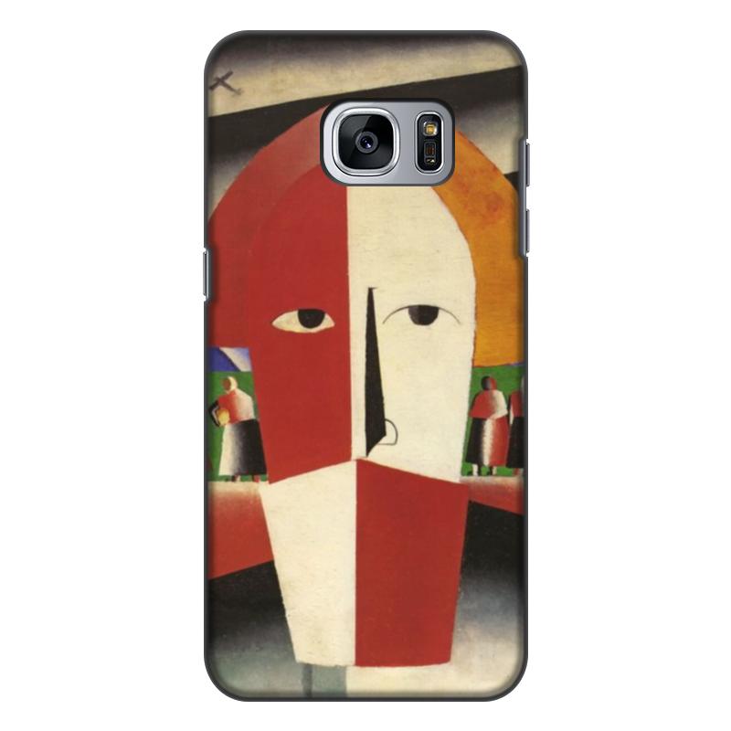 Чехол для Samsung Galaxy S7, объёмная печать Printio Голова крестьянина (казимир малевич) казимир валишевский царство женщин