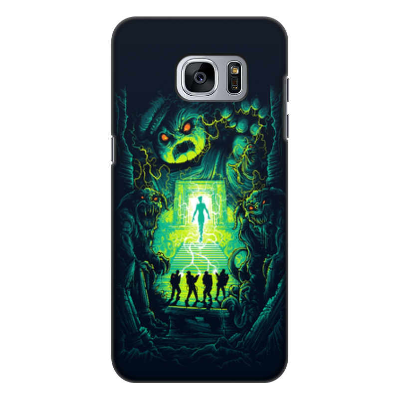 Чехол для Samsung Galaxy S7, объёмная печать Printio Ghost busters аксессуар чехол накладка для samsung galaxy s7 monsterskin hd crash guard