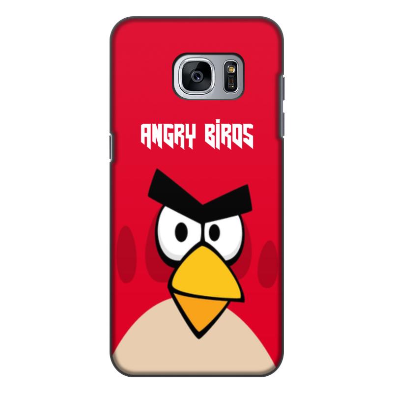 Чехол для Samsung Galaxy S7, объёмная печать Printio Angry birds (terence) чехол gear4 angry birds pig king для new ipad ipad2 ipab303g