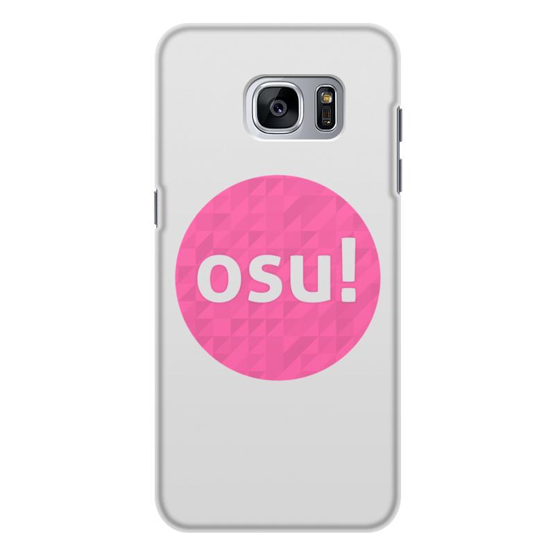Чехол для Samsung Galaxy S7, объёмная печать Printio Osu! (видеоигра) видеоигра для pc dirt 4