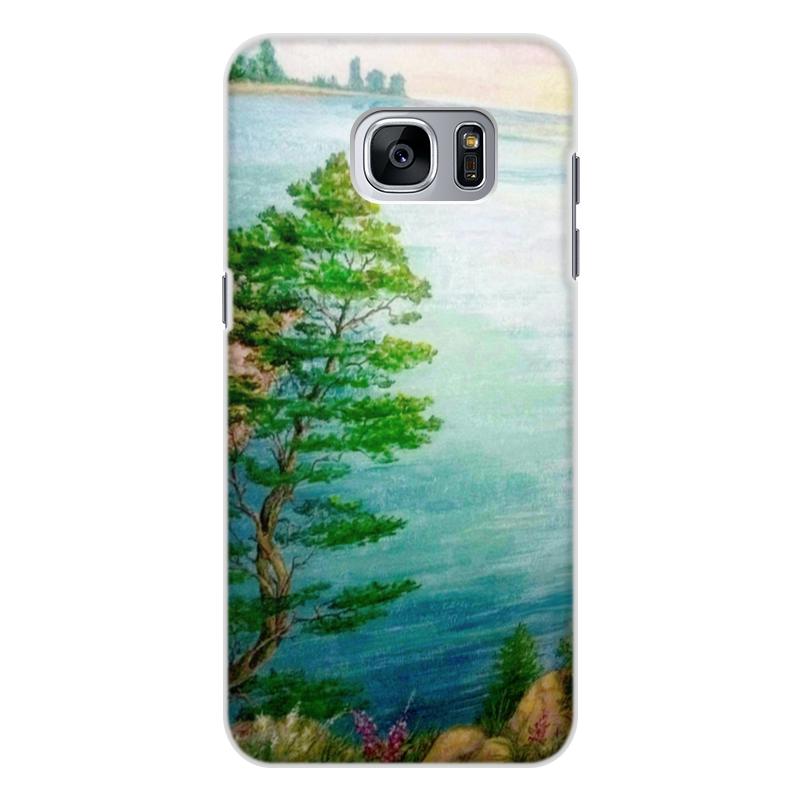 купить Чехол для Samsung Galaxy S7, объёмная печать Printio Песчаный берег